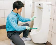 トイレ・洗面所クリーニング